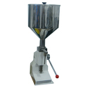 Hand Operated Cream and Paste Filling Machine / Hand Sanitizer Filling Machine