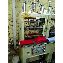 Double Head Bra Cup Moulding Machine
