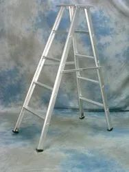 Aluminum Silver Folding Ladder