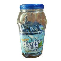 Center Blast Gum, Packaging Type: Plastic Jar