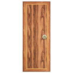 Brown Sintex PVC Doors