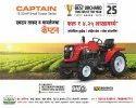 Captain Mini Tractors 3feet width Narrow