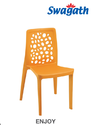 Enjoy Plastic Cafeteria Dining Chair