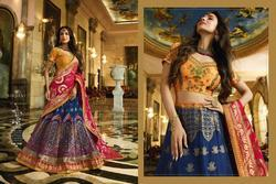 Stupendous Banarasi Silk Embroidered Wedding Wear Lehenga Choli