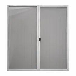 White Aluminium Aluminum Mesh Window