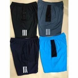 Men Lycra Sports Shorts
