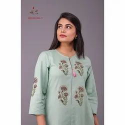 Rel 17 Cotton Embroidered Kurti