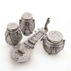 Silver Plated Musical Set