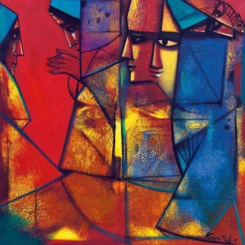 designer abstract painting at rs 9800 piece abstract