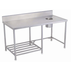 SS Solid Dish Landing Table