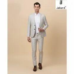 Plain Mens Casual Wear Two Piece Suit, Size: 36-46