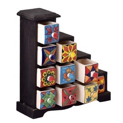 Painted Ceramic Drawer At Best Price In India