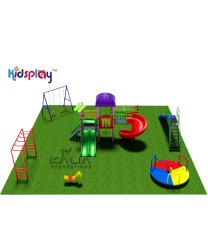 Titanium Kids Outdoor Playground Set-  KP-KR-P104