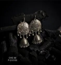 Oxidized Earrings OXE 66