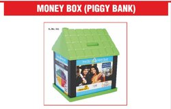 Plastic Money Box ( Piggy Bank )