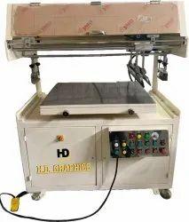 Label Sticker Flat Screen Printing Machine