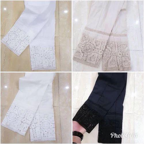 0042a9b9bb Cotton Plain Pakistani Cigarette Pant, Waist Size: 26.0 & 32.0, Rs ...