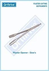 Orthrive Stainless Steel Daw'S Plaster Opener, For Surgery