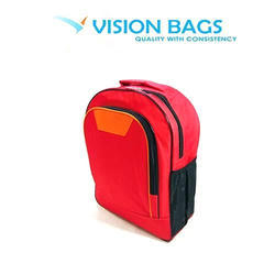 Plain Polyester School Bag