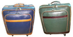 Albatross and Brown Manufacturer of Leather Trolley Bags
