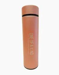 Orange Vacuum Water Bottle, Capacity: 800 Ml