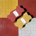 Designer Tile (Red Yellow)