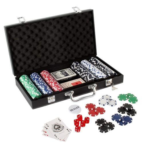 Casino & Poker Set - 200 Coins Poker Set Wholesale Trader