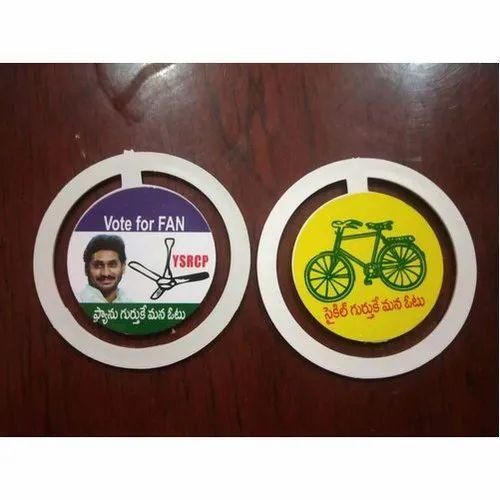 Political Badge - Printed Political Badge Manufacturer from