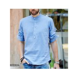 3ca4bc37428c Chinese Collar Shirt at Best Price in India