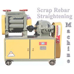 Semi Automatic and Manual Scrap Bar Straightening Machine