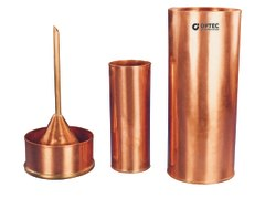 Rain Gauge, British Association Pattern, Copper