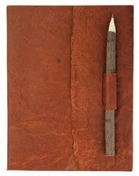 Handmade Paper Journal with Neem Pencil
