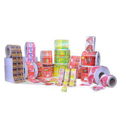 Label Sticker Roll Form Printing Service