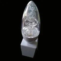 7 W Warm White LED Candle Bulb