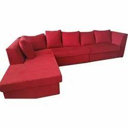 L shape sofa lounger