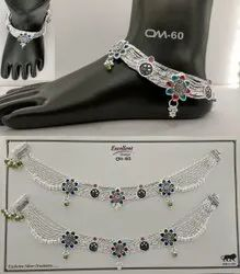 Silver Fancy Payal