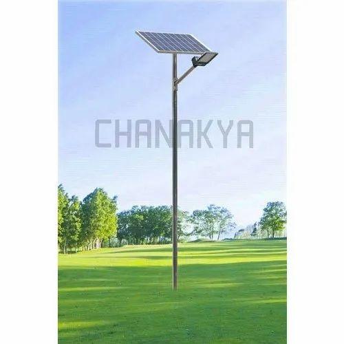 Solar Integrated Lighting Pole