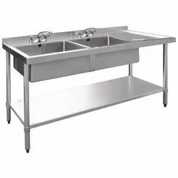 Rectangular Stainless Steel Table Sink