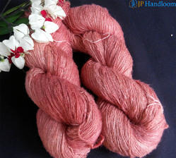 Natural Dyed Eri Spun Silk Yarn