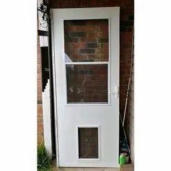 Aluminum And Glass Hinged Aluminum Glass Door