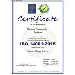 ISO 14001:2015 Certification Consultancy Service