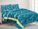 Sparrow Print Cotton Double Bedsheet