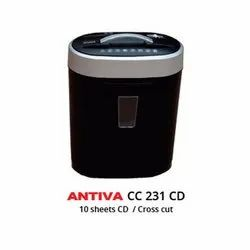 Desk Side Office Paper Shredders-Antiva CC231CD