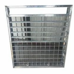 Silver Air Cooler Front Grill