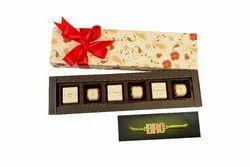 Velvet Fine Chocolates Floral Love with Rakhi