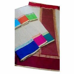 Printed Plain Cotton Fabric