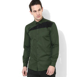 Green Hill Mens Olive Clubwear Shirt