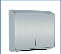 Grey SS Paper Towel Dispenser