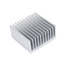 Silver Extruded Aluminium Heatsink
