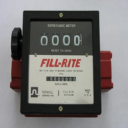Manual Re Zero Diesel Flow Meter